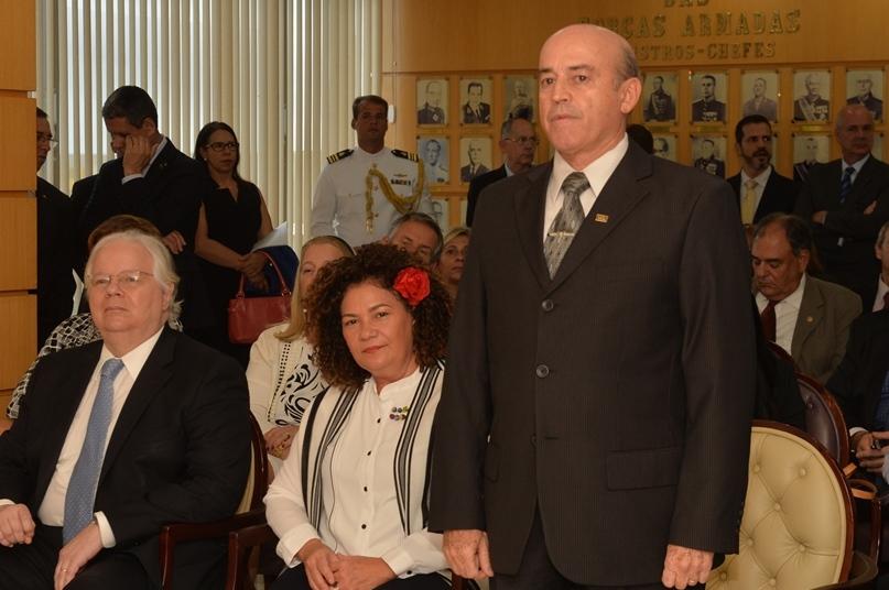 Tenente-brigadeiro-do-ar Ricardo Machado Vieira, novo secretário de Pessoal, Ensino, Saúde e Desporto do Ministério da Defesa
