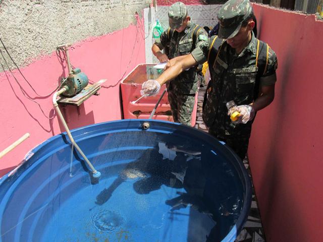Combate ao mosquito Aedys Aegypti em Rio Branco