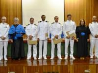 Colação de grau dos Oficiais-Alunos na presença do Diretor de Engenharia Naval