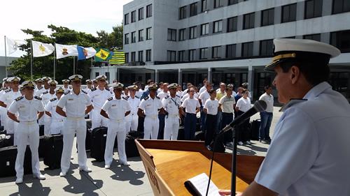 Escola Naval inicia o período de adaptação 2016