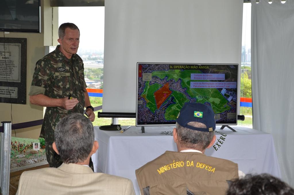 General Márcio Heise, comandante da 7ª região do CMNE, apresenta plano de revitalização do parque