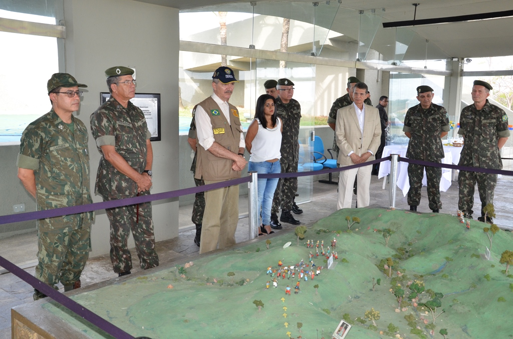 Ministro Aldo destacou a importância do Parque Histórico Nacional dos Guararapes para a preservação da história do Brasil