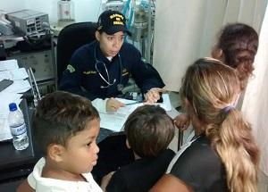 Cerca de 25 mil pessoas serão beneficiadas pelos serviços médicos oferecidos no navio