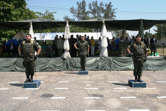 Passagem de Comando da Base de Apoio Logístico do Exército