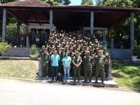 Soldados Fuzileiros Navais realizaram uma parte do estágio na Ilha das Flores