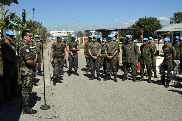 ONU avalia Batalhão Brasileiro no Haiti quanto ao emprego das Regras de Engajamento