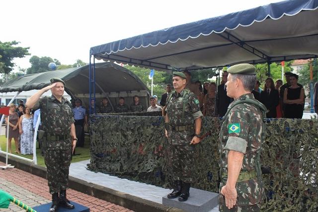 Passagem de Comando do Centro Conjunto de Operações de Paz do Brasil