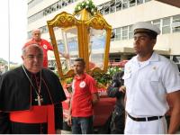 Cerimonial de recepção para o Arcebispo Dom Orani João Tempesta