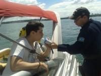 Inspeção naval no Lago Paranoá