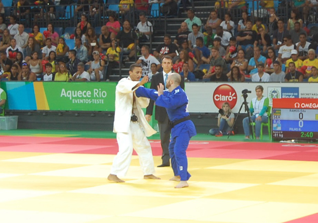 Atletas do Exército participam de evento-teste de Judô para Rio 2016