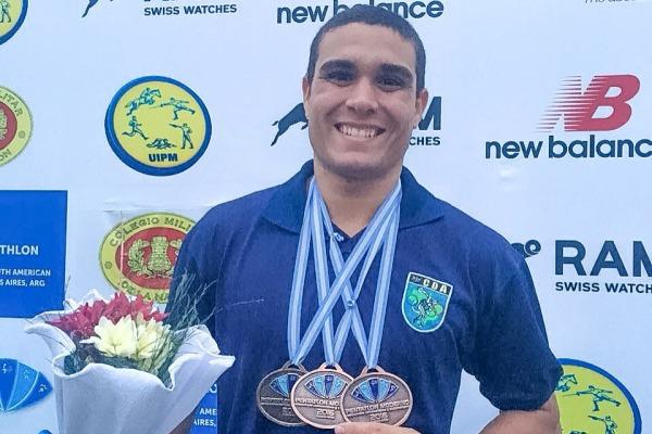Atletas da FAB contribuem para vitória do Brasil em campeonatos internacionais