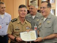 A certificação foi entregue na sexta-feira (18) pelo chefe do Estado-Maior Conjunto das Forças Armadas (EMCFA), almirante Ademir Sobrinho