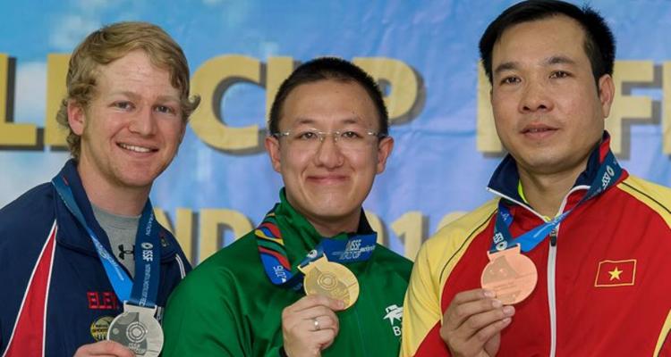 Atleta do Exército alcança o 1º lugar no ranking mundial de tiro esportivo