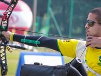 O sargento da FAB Bernardo Oliveira é um dos atletas que integra o Programa de Alto Rendimento. Foto: World Archery