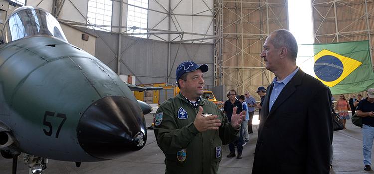 """Aldo ressaltou que, quando foi criada, """"a Força Aérea Brasileira já tinha um acúmulo de conhecimentos e combates, devido à experiência na Itália"""
