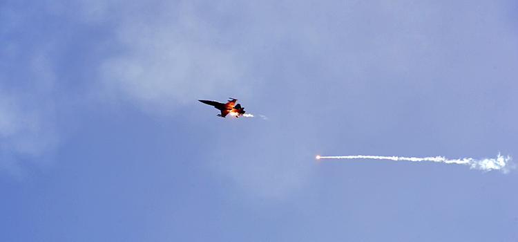 Foram lançadas 12 bombas de 500 libras e rajadas de canhões de 30 mm a partir das modernas aeronaves brasileiras A-1M e F-5M