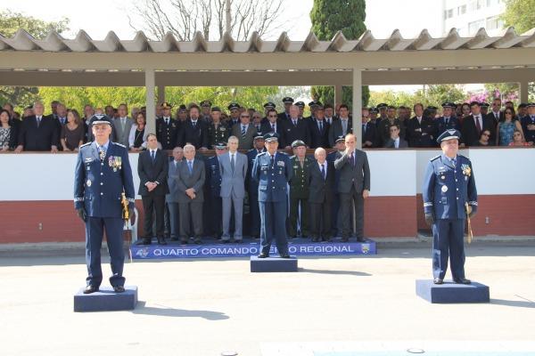Novo Comandante assume Quarto Comando Aéreo Regional