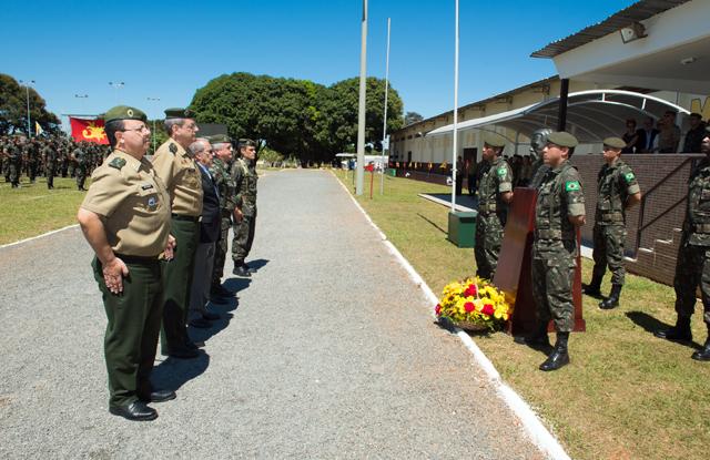 Comemoração do Dia da Intendência em Brasília