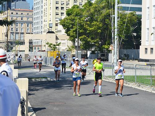 A maratona olímpica foi o segundo evento-teste para os Jogos Olímpicos e Paralímpicos Rio 2016