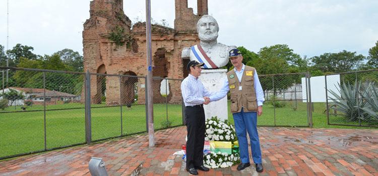 Brasil e Paraguai homenageiam combatentes da Guerra da Tríplice Aliança
