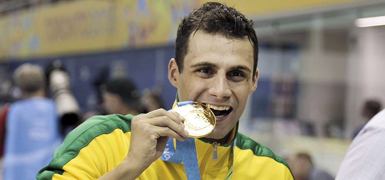 O sargento do Exército Léo de Deus irá em busca de medalha na natação para o Time Brasil - Foto: Divulgação COB.