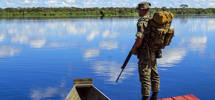 O Programa Calha Norte passará a atender 141 municípios do Mato Grosso e 44 municípios do Mato Grosso do Sul - Foto: Pedro Dutra/ MD.