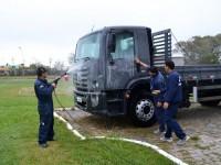 Na primeira fase a água captada será utilizada para lavagem das viaturas