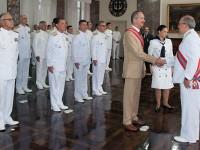 A Ordem do Mérito Naval foi criada em 1934 e destina-se a premiar os militares e personalidades com relevantes serviços prestados à Marinha