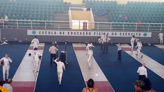 EsEFEx recebe competições internacionais de Esgrima em teste para os Jogos Olímpicos