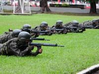 Exercício testa atuação dos militares que atuarão no Rio de Janeiro durante as Olimpíadas