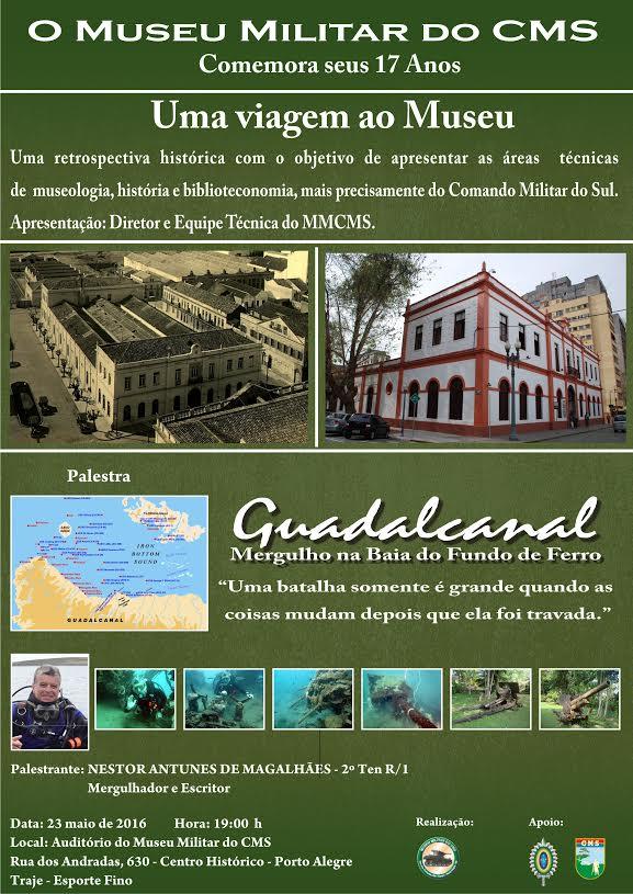 Museu Militar do Comando Militar do Sul comemora seu 17° aniversário