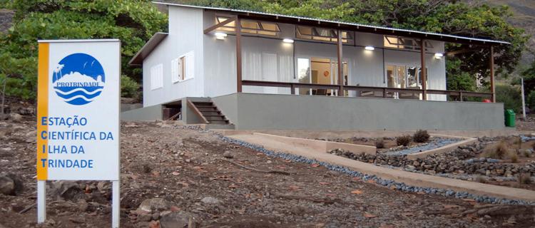 Estação Científica da Ilha da Trindade (ECIT) possui capacidade para alojar até oito pesquisadores