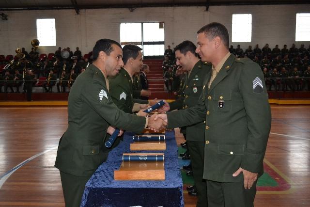 Escola de Aperfeiçoamento de Sargentos das Armas encerra o 1° Turno do CAS 2016