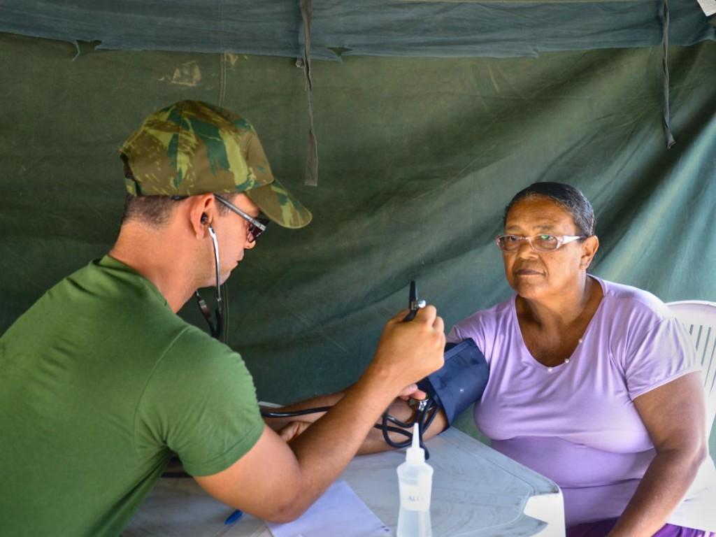 Ações de saúde para a população de Itaparica