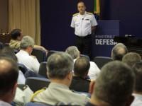 O almirante tratou ainda dos projetos estratégicos de defesa, como o PROSUB e o SISFRON