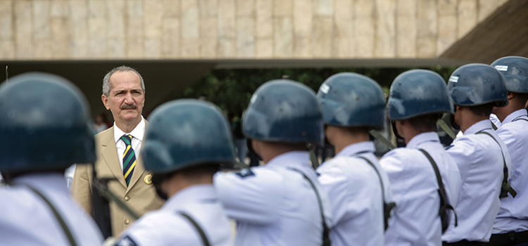 Ao encerrar o seu pronunciamento, Aldo Rebelo destacou que as causas que levaram o mundo ao conflito mundial não desapareceram.