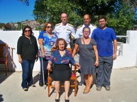 Familiares remanescentes das vítimas, em companhia dos Diretores da DSAM e do CMASM