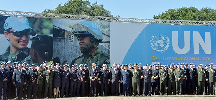Defesa e Forças Armadas homenageiam os Mantenedores da Paz – Peacekeepers