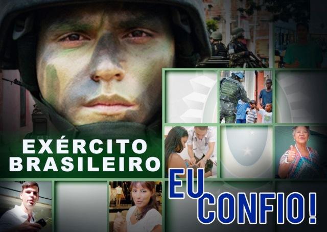 Pesquisa sobre a imagem do Exército Brasileiro