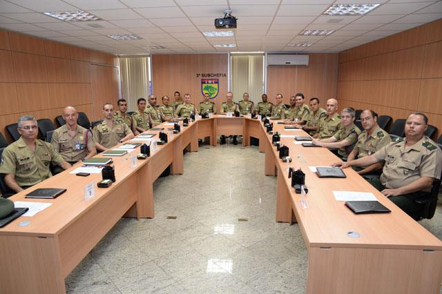 1ª Reunão de Adjuntos de Comando