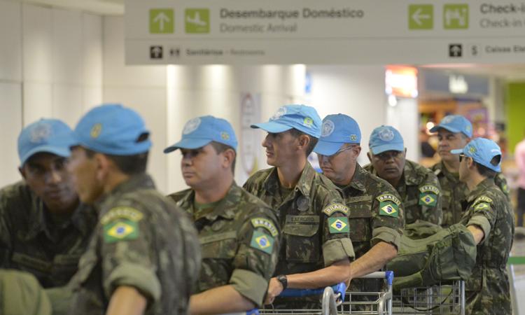 Tropas do 24º Contingente iniciam embarque para o Haiti