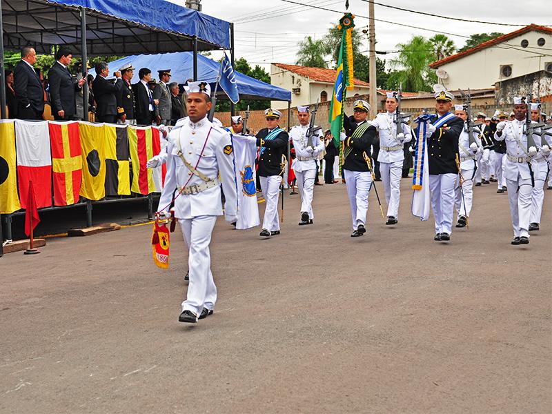 Comando do 6º Distrito Naval celebra o 151º aniversário da Batalha Naval do Riachuelo