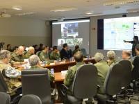 Em Campo Grande, o ministro visitou no CMO, o Centro de Operações da Ágata 11