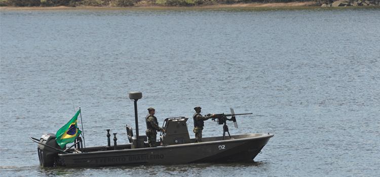 Ágata: Mais de 11 mil militares e 33 agências governamentais atuam no combate ao crime nas fronteiras