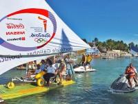 CPPE acompanha a tocha olímpica em Porto de Galinhas