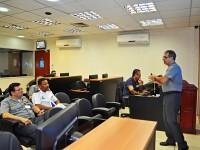 Capitão de Mar e Guerra Blanco profere palestra no COMCONTRAM