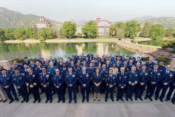 Conferência de Comandantes das Forças Aéreas Americanas reúne militares nos EUA