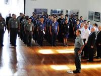 Cerimônia no Complexo Naval da Ponta da Armação