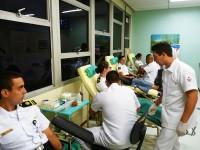 Militares da DOCM doam sangue no HNMD