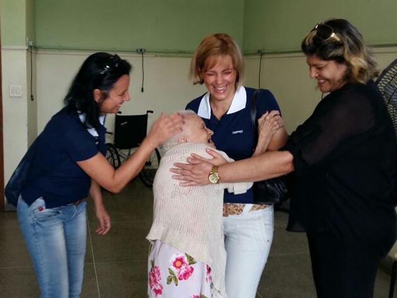 Diretoria de Portos e Costas realiza ação solidária em abrigo de idosos no Rio